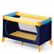Reisebett Dream'n Play - Yellow Blue Navy