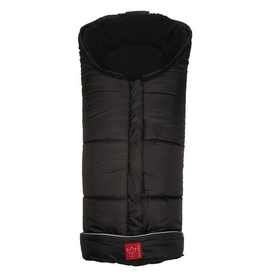 Thermo-Fleece Fußsack Iglu - Schwarz