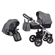 Kombi-Kinderwagen Swing - Dark Grey