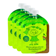 Pack of 4 - Squeeze - reusable squeeze bags - 170ml