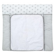 Wrap-around pad with terry cloth cover - Ice Crystal - Grey