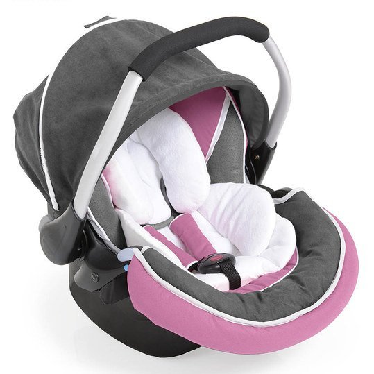 Babyschale Zero Plus Select - Pink Grey