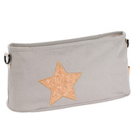Buggy-Organizer Casual - Cork Star - Light Grey