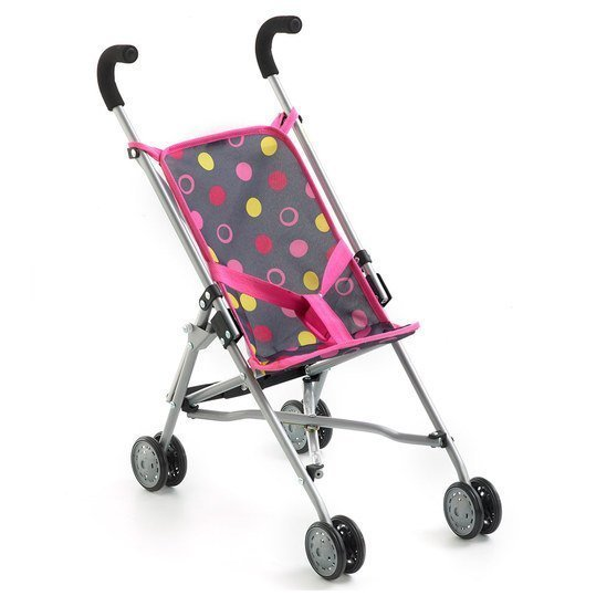 Puppenbuggy Roma - Funny Pink