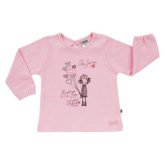 Langarmshirt Classics - Me And You Rosa - Gr. 74