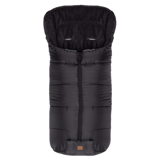 Fleece-Fußsack Eco Big - Schwarz