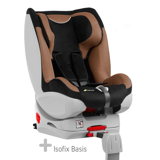 hauck reboard kindersitz varioguard inkl isofix basis black beige. Black Bedroom Furniture Sets. Home Design Ideas