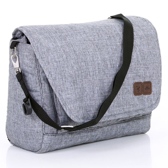 Diaper bag Fashion - incl. diaper changing mat and accessories - Graphite Grey