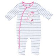 Overall Lovely Cats - Ringel Grau Pink