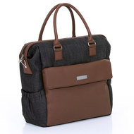 Diaper bag Jetset - incl. diaper changing mat, bottle warmer and utensil bag - Piano