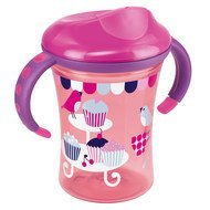 Trinklern-Becher Easy Learning Trainer Cup 250 ml - Rosa