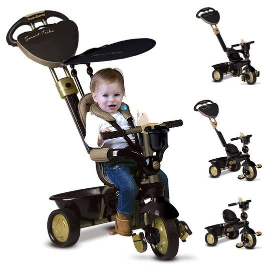 Dreirad Dream 4 in 1 mit Touch Steering - Gold