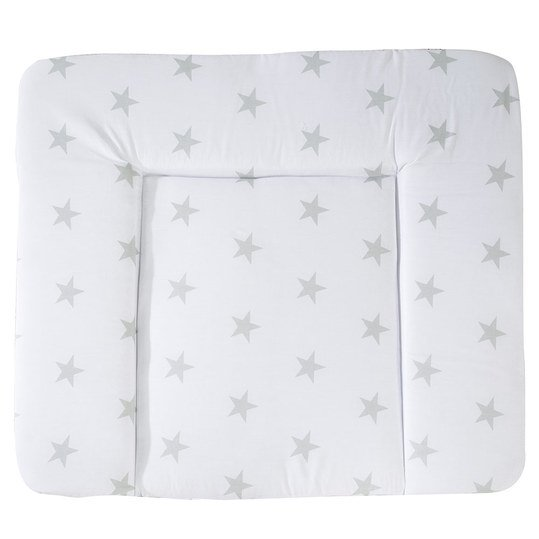Folien-Wickelauflage Soft - Little Stars - Weiß