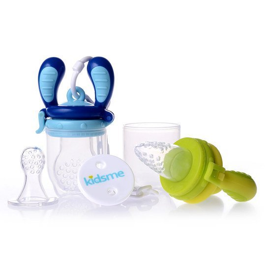 6-tlg. Starter-Set Food Feeder - Lime Aquamarin