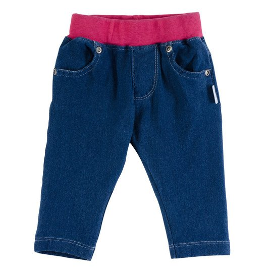 Sweat-Jeans Happy Friends - Blau - Gr. 68