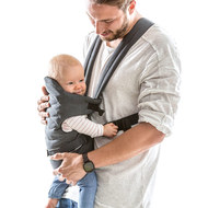 Babytrage 2-Way Carrier - Melange Charcoal