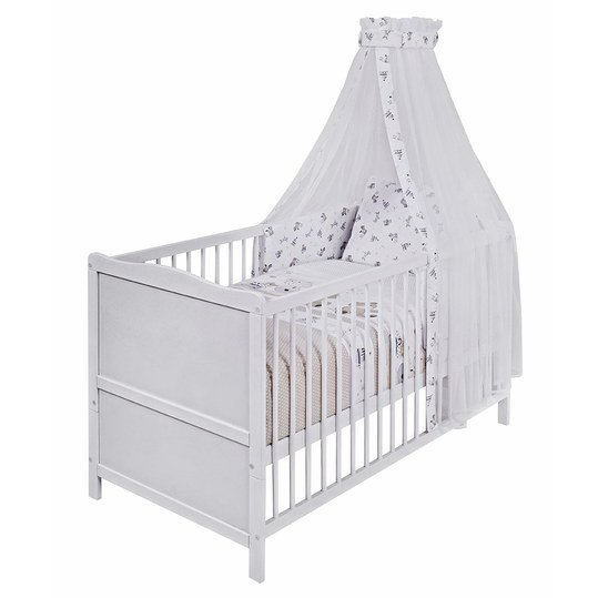 complete bed Mona white 70 x 140 cm - play bear