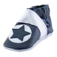 Leather Shoe Star - Marine - Gr. 20 / 21