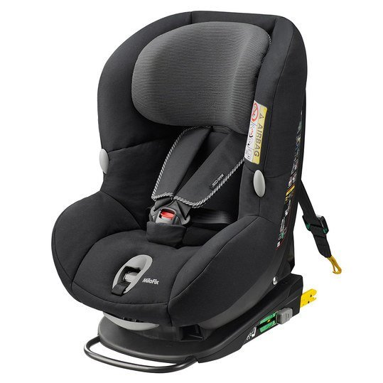 maxi cosi kindersitz milofix black raven. Black Bedroom Furniture Sets. Home Design Ideas