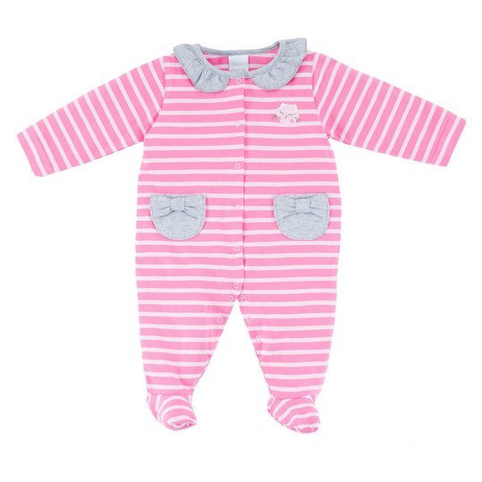 Overall Lovely Cats - Ringel Pink - Gr. 68