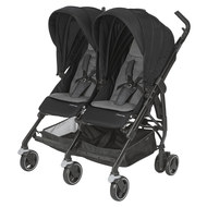 Geschwister- & Zwillingsbuggy Dana for 2 - Nomad Black
