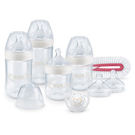 8-piece Perfect Start Set Nature Sense - Silicone - White