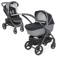 Kombi-Kinderwagen Duo Stylego Up Crossover - Jet Black