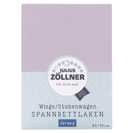 fitted sheet for small mattresses 40 x 90 cm - lilac