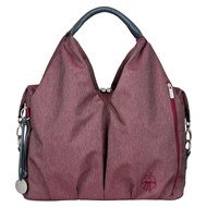 Wickeltasche Green Label Neckline Bag - Ecoya Burgundy Red