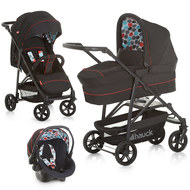 Kinderwagen-Set Toronto 4 Trioset - Black