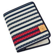 Mums Organizer Casual - Striped Zigzag - Navy