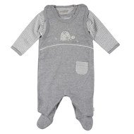 2-piece set romper + Body Infinity Turtle - Grey - Gr. 56