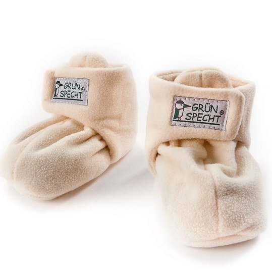 Warming shoe with rapeseed filling - size 0 - 6 months