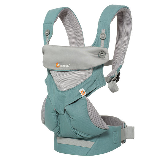 360° Cool Air Mesh baby carrier for 4 carrying positions - Icy Mint