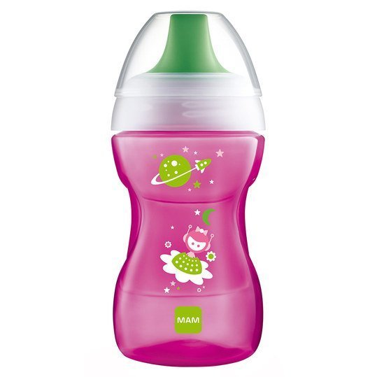 Trinklern-Flasche Learn to Drink Cup Fashion 270 ml - Pink