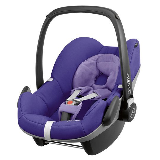Babyschale Pebble - Q-Design Purple Pace