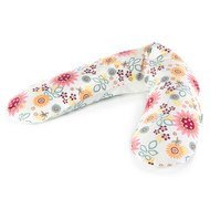 Cover for nursing pillow The Original - Summerflowers Colourful