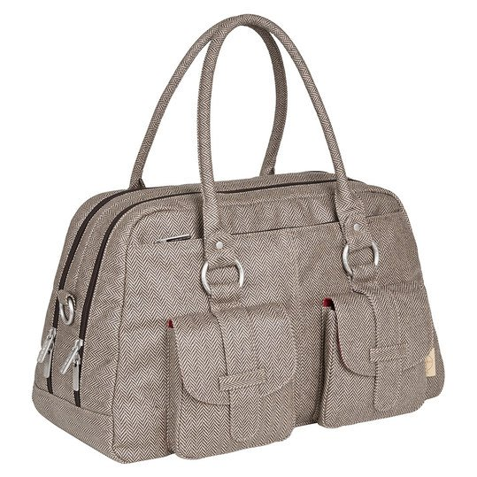 Wickeltasche Vintage Metro Bag - Twill - Choco