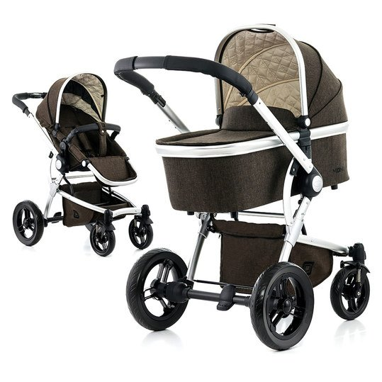 Kombi-Kinderwagen Cool City - Brown Melange