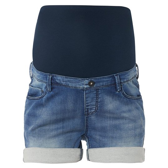 Sweat-Short Denim-Look - Blau - Gr. 29