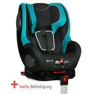 Kindersitz Guardfix mit Isofix-Basis - Black Aqua