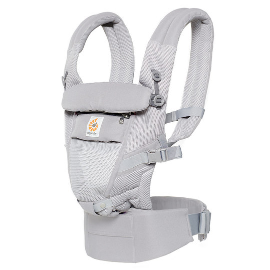 Babytrage Adapt Cool Air Mesh - Pearl Grey