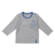 Langarmshirt My handsome One - Ringel Blau - Gr. 74