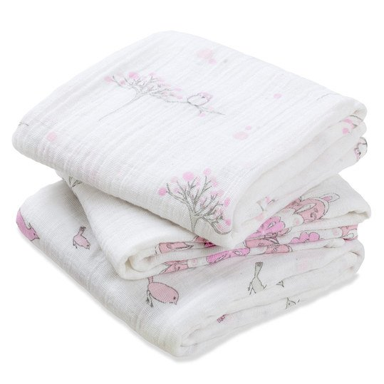 Mullwindel 3er Pack Classic Musy 70 x 70 cm - For the Birds