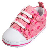 Turnschuh - Sterne Rosa