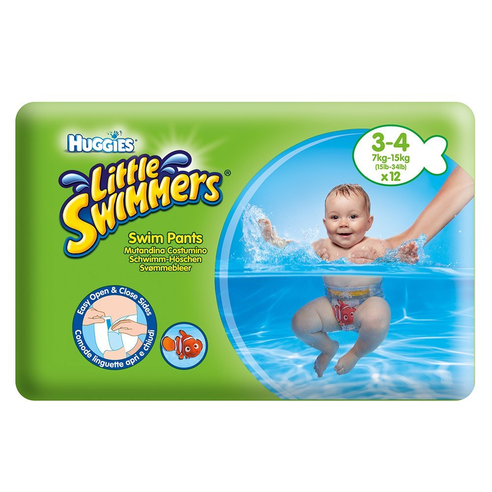 Little Swimmers Swim Diapers 12er Pack Huggies Disney Gr 3