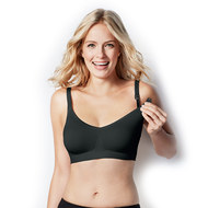 Still- & Schwangerschafts-BH Body Silk Seamless - Black - Gr. M