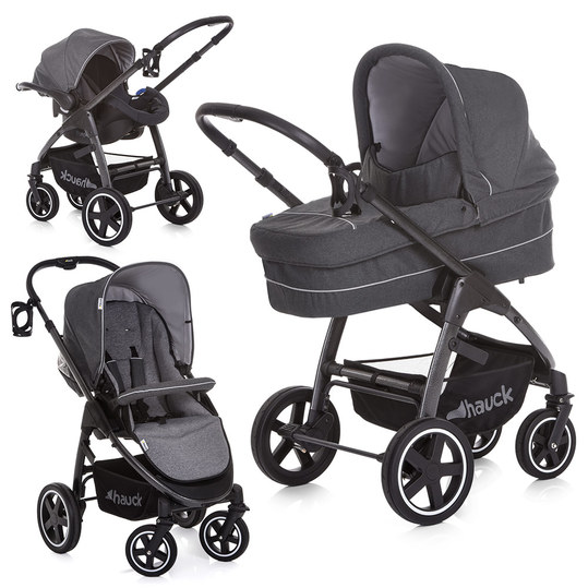 Kinderwagen-Set Soul Plus Trio Set - Beluga