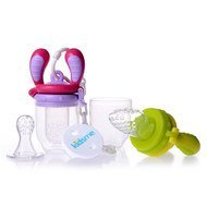 6-tlg. Starter-Set Food Feeder - Lime Lavendel