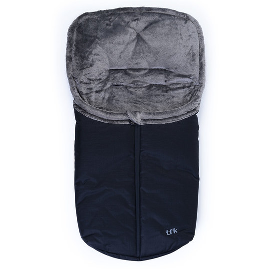 Footmuff XS for baby tubs and baby carriers - Black